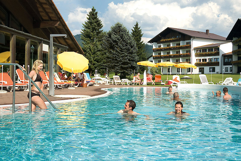 Hotel mit Freibad in Bodenmais